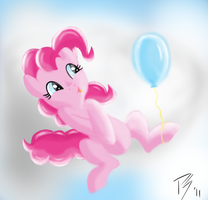 I Love Balloon by PinkieSurprise