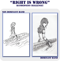 Right is Wrong Challenge by Elistanel