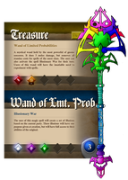 Nisovin - Wand of Limited Probabilities by IronClark
