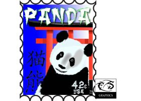 Panda Stamp by Live-2-Create