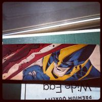 most challenging wallet wolverine almost done by MerrillsLeather