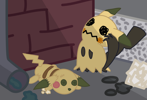 Mimikyu by doubleosquirtle