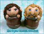 Kili and Fili barrel charms! by Comsical