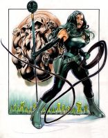 Viper aka Madame Hydra by Reverie-drawingly