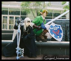 Anime Boston Me and Link by GingerAnneLondon