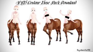 MMD YYB Centaur Base Pack Download by dianita98