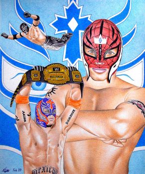 Rey Mysterio Jr by MLBOA