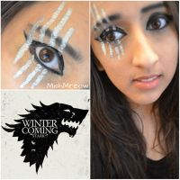 Game of Thrones Makeup Series - House Stark by MishMreow