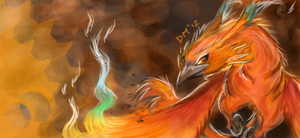 The Rising Phoenix-DragonBird by creationbrewahoi