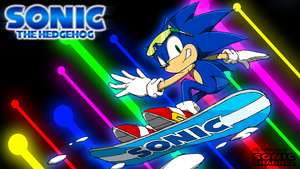 Sonic The Hedgehog Wallpaper by Sonicking9