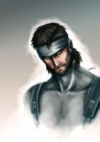 Solid Snake by karulox