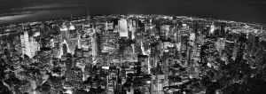 lights everywhere - panorama by toko