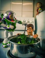 Cooking with Buzz and Woody by DeniseBayles