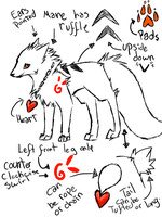 New Scorch Ref sheet by Scorched-FoxFire