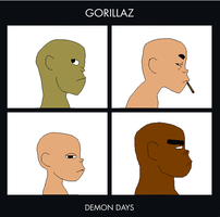 Gorillaz-Demon Days Base by wolf1boi