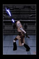 Jarael - The Force Unleashed by Kuragiman