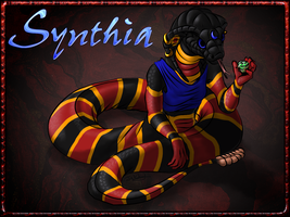 Livestream Commission: Synthia by JakkalWolf