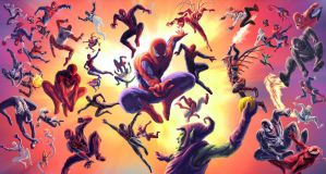 SPIDER-VERSE by VTomi