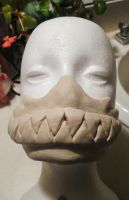 Unfinished mask from the front 1 by AFKBrandy