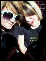 Carina and Myself at SOUNDWAVE by InevitableFury