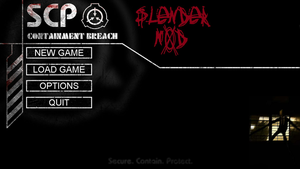 SCP Containment Breach Slendermod by zguy1996