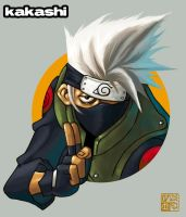 kakashi again by peterete