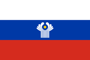 Combined flag of language: Russian by hosmich