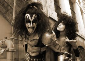KISS: New York Groove by Sarapungs-tokusatsu
