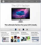 GFX Faction Home Page by Drege