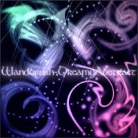 Wandbrush-DreamyAbstract by Mo by droz928
