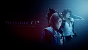 Squall And Laguna Dissidia 012 by DarkAnimaPro