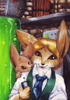 the FACE OF SCIENCE by Cervelet