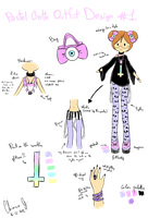 [Outfit Design] Pastel Goth by LiloLilosa