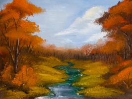 Fall Landscape by Britan