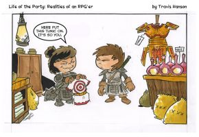 The Target : Rpg Comic by travisJhanson