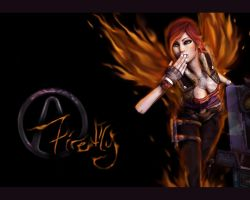 Siren Firefly Wallpaper by AlluraRed