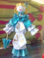 Origami doll by vic999