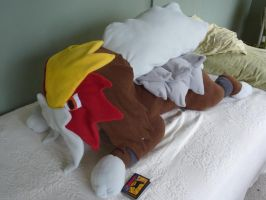 large Entei plush! by Plush-Lore