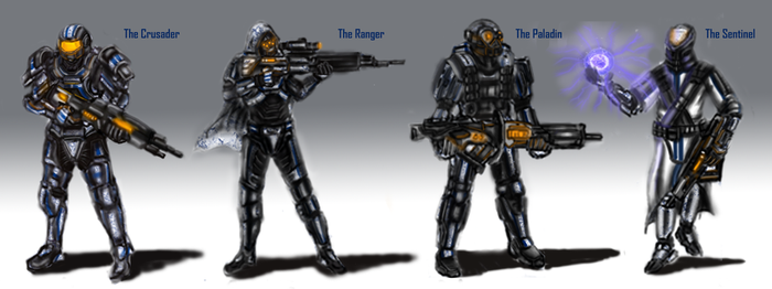 SASC Recon Marine and Critical Skills Marine O by LupeanTheNavyPriest