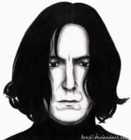 Severus Snape, The Bad Bat Boy by Kresli