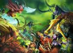 World of Warcraft Legion by Hassly