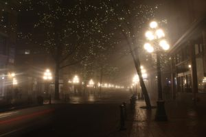 Old Gastown in Fog by anonymous-dreams