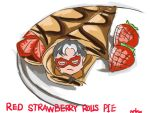 Red-strawberry-rolls-pie by Maxineisreallydead