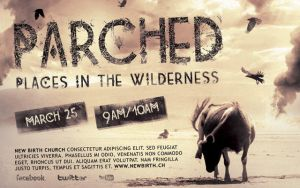 Parched Church Flyer Template by loswl