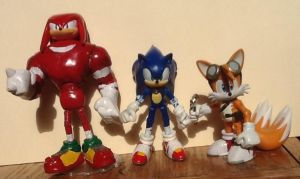 Team Sonic (Sonic Boom) by ArtKing3000