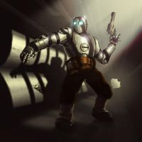 Atomic Robo by Sin-Vraal