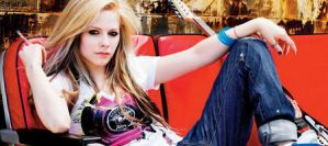 Avril Lavigne sign by schatzii54
