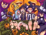 Blair tickles 3 witches by Bad-Pierrot