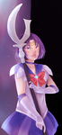 Collab: Sailor Saturn by CherubGem
