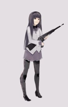 Homura by Surreptitious-Socks